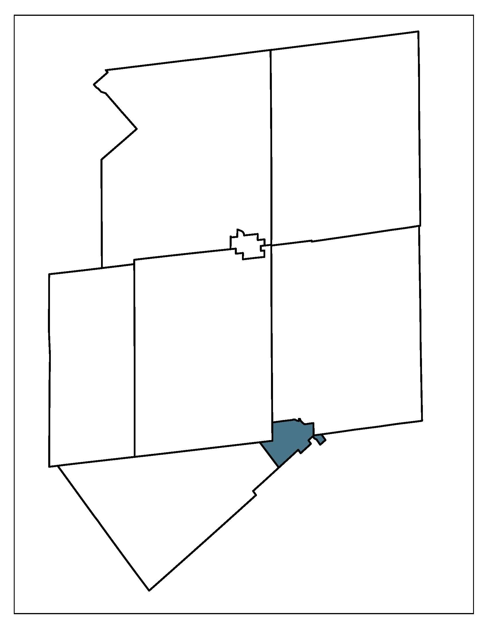 Orangeville Location Map