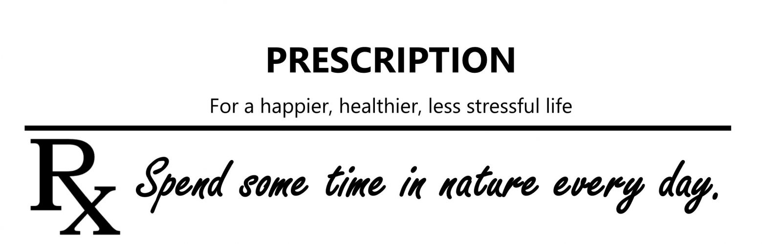 nature prescription
