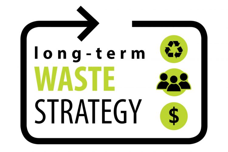 Long-term waste management strategy logo