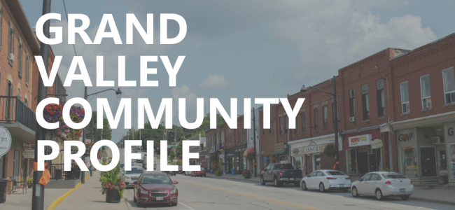document cover photo - downtown Grand Valley