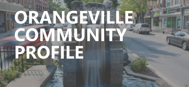 Document cover photo - Downtown Orangeville