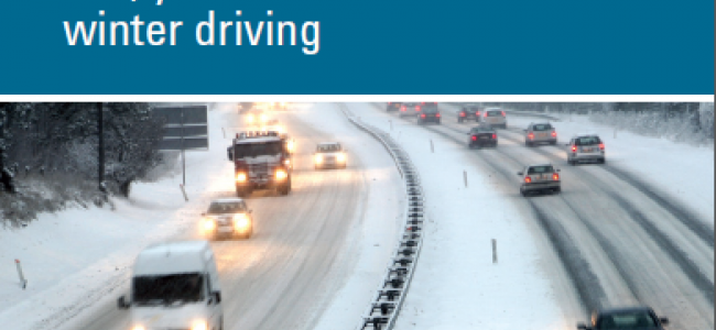 Cover of Winter Driving: You, Your Vehicle, and Winter Driving