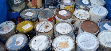 Paint Cans and Hazardous Waste